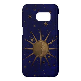 Funda Samsung Galaxy S7 Noche estrellada de la luna celestial de Sun