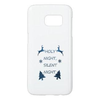 Funda Samsung Galaxy S7 Noche santa, noche silenciosa