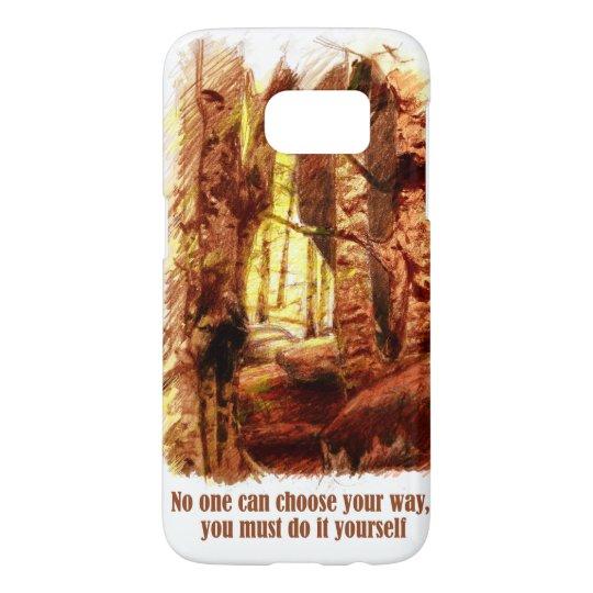 Funda Samsung Galaxy S7 Orange Forest