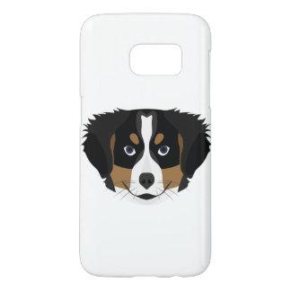 Funda Samsung Galaxy S7 Perro de montaña de Bernese del ilustracion