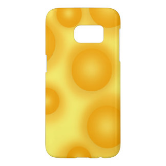 Funda Samsung Galaxy S7 Queso suizo amarillo