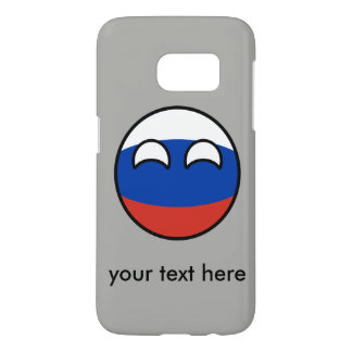 Funda Samsung Galaxy S7 Rusia Geeky que tiende divertida Countryball