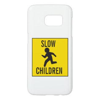 FUNDA SAMSUNG GALAXY S7  SLOW-CHILDREN