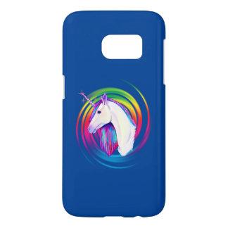 Funda Samsung Galaxy S7 Unicornio del arco iris
