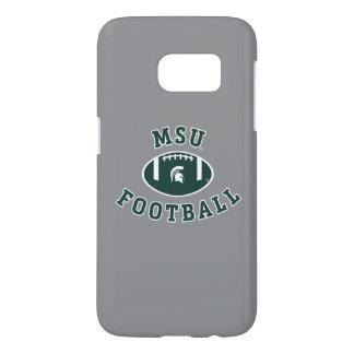Funda Samsung Galaxy S7 Universidad de estado del fútbol el | Michigan de