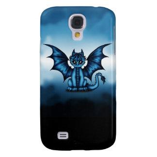 Funda Samsung S4 Azul de Dragonbaby