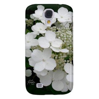 Funda Samsung S4 Caja floral blanca de la galaxia 4 de J Spoelstra