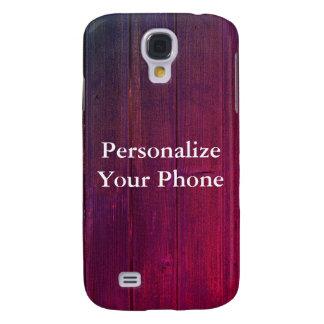 Funda Samsung S4 Grano de madera colorido