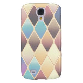 Funda Samsung S4 Mosaico en colores pastel del diamante