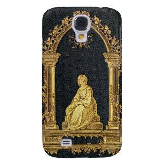 Funda Samsung S4 Mujer de Falln en cubierta de libro del oro