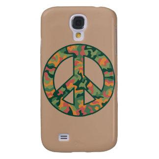 Funda Samsung S4 Paz colorida de Camo