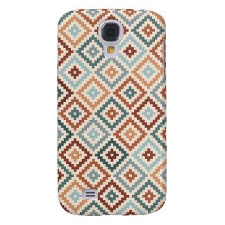 Funda Samsung S4 Terracota azteca de Crm de los trullos del Rpt Ptn