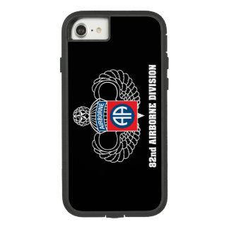 Funda Tough Extreme De Case-Mate Para iPhone 8/7 82.o Caso del negro de la división