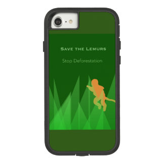 Funda Tough Extreme De Case-Mate Para iPhone 8/7 Ahorre los Lemurs