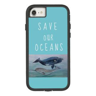 Funda Tough Extreme De Case-Mate Para iPhone 8/7 Ahorre nuestro caso de los océanos