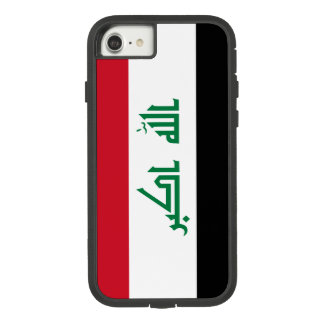 Funda Tough Extreme De Case-Mate Para iPhone 8/7 Bandera de Iraq