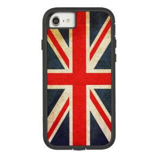 Funda Tough Extreme De Case-Mate Para iPhone 8/7 Bandera de Union Jack Británicos del vintage