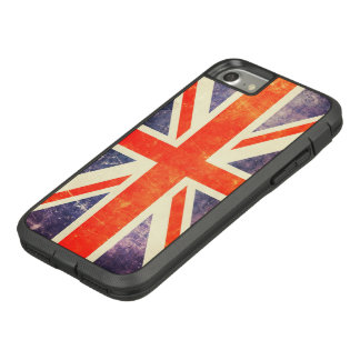 Funda Tough Extreme De Case-Mate Para iPhone 8/7 Bandera de Union Jack del vintage