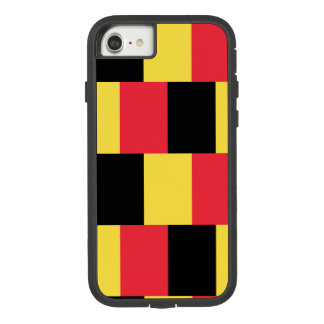 Funda Tough Extreme De Case-Mate Para iPhone 8/7 Bandera nacional de Bélgica