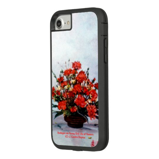 Funda Tough Extreme De Case-Mate Para iPhone 8/7 Bodegón de flores/Still life of flowers