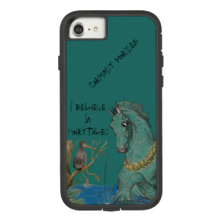 Funda Tough Extreme De Case-Mate Para iPhone 8/7 Caballo de mar y pájaro de la pesca
