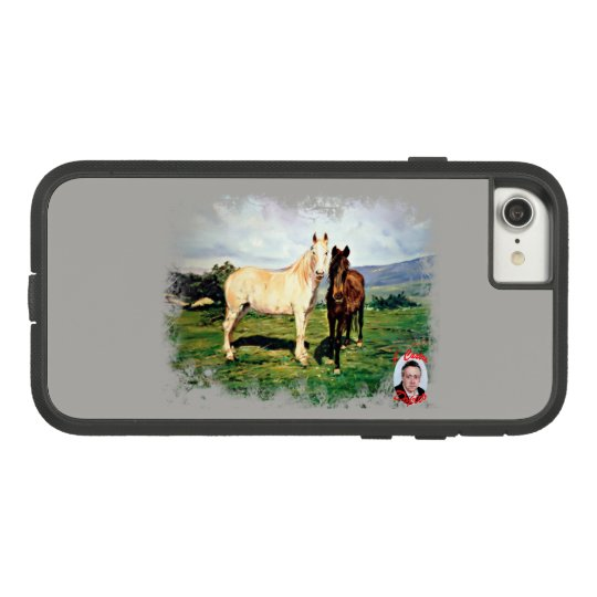 Funda Tough Extreme De Case-Mate Para iPhone 8/7 Caballos/Cabalos/Horses