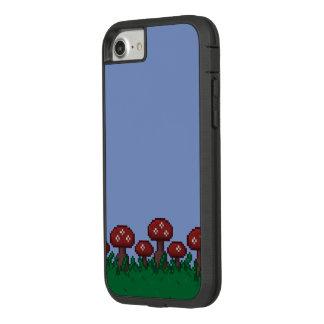 Funda Tough Extreme De Case-Mate Para iPhone 8/7 caja de 8 bits del teléfono del jardín del