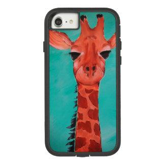 Funda Tough Extreme De Case-Mate Para iPhone 8/7 Caja del teléfono celular de la jirafa