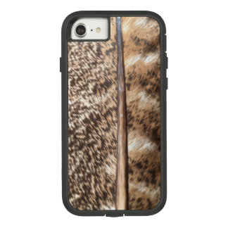 Funda Tough Extreme De Case-Mate Para iPhone 8/7 Caja del teléfono de la pluma de Turquía