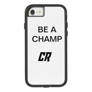 Funda Tough Extreme De Case-Mate Para iPhone 8/7 Caja del teléfono de Rayan del campeón