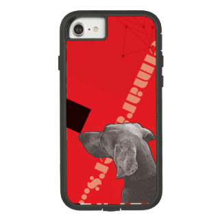 FUNDA TOUGH EXTREME DE Case-Mate PARA iPhone 8/7 CAJA ROJA DEL GRÁFICO WEIM IPHONE POR WEIM AZUL