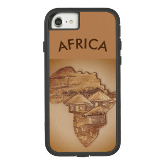 Funda Tough Extreme De Case-Mate Para iPhone 8/7 Caso del iPhone 7 del diseño de África