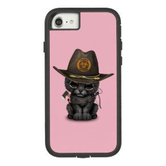 Funda Tough Extreme De Case-Mate Para iPhone 8/7 Cazador lindo del zombi de Cub de la pantera negra