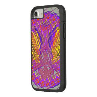 Funda Tough Extreme De Case-Mate Para iPhone 8/7 Diseño colorido asombroso del modelo del ciruelo