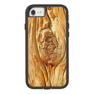 Funda Tough Extreme De Case-Mate Para iPhone 8/7 Diseño de madera nudoso de la caja del teléfono