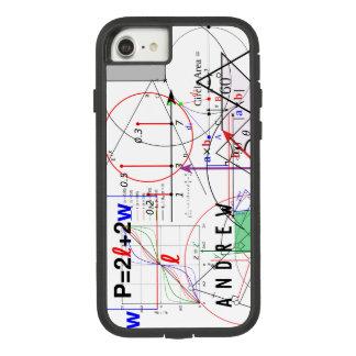 Funda Tough Extreme De Case-Mate Para iPhone 8/7 Ecuación de la ciencia de la física de la