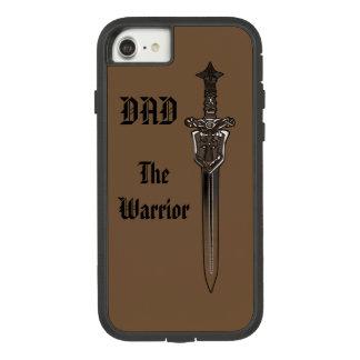 """Funda Tough Extreme De Case-Mate Para iPhone 8/7 """"EL PAPÁ del GUERRERO"""" con la espada"""