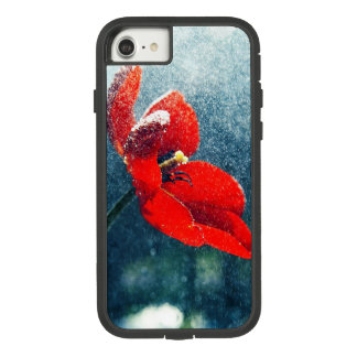 Funda Tough Extreme De Case-Mate Para iPhone 8/7 Flor en la lluvia