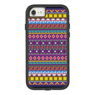 Funda Tough Extreme De Case-Mate Para iPhone 8/7 Formas geométricas con derechos del pedazo de la