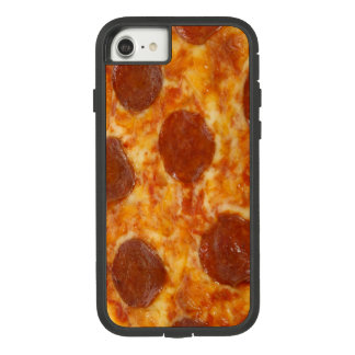 Funda Tough Extreme De Case-Mate Para iPhone 8/7 Foto grasienta divertida de la pizza