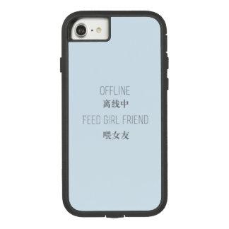Funda Tough Extreme De Case-Mate Para iPhone 8/7 fuera de línea, novia de la alimentación