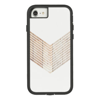Funda Tough Extreme De Case-Mate Para iPhone 8/7 Galón minimalista blanco con madera