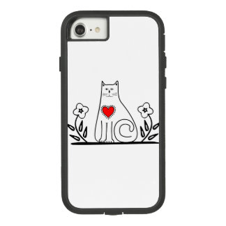 Funda Tough Extreme De Case-Mate Para iPhone 8/7 Gato del país