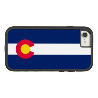 Funda Tough Extreme De Case-Mate Para iPhone 8/7 Gráfico dinámico de la bandera del estado de