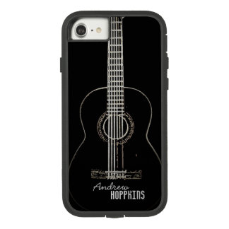 Funda Tough Extreme De Case-Mate Para iPhone 8/7 Guitarra acústica personalizada