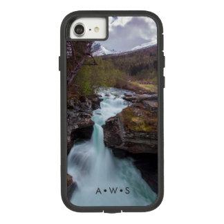 Funda Tough Extreme De Case-Mate Para iPhone 8/7 Iniciales personalizadas paisaje de la corriente