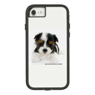 Funda Tough Extreme De Case-Mate Para iPhone 8/7 iPhone 8/7 caso - perrito de Biewer Terrier