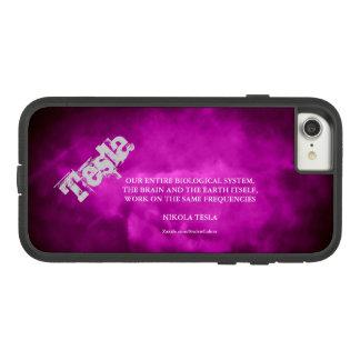 FUNDA TOUGH EXTREME DE Case-Mate PARA iPhone 8/7 LAS MISMAS FRECUENCIAS - NIKOLA TESLA 2,0