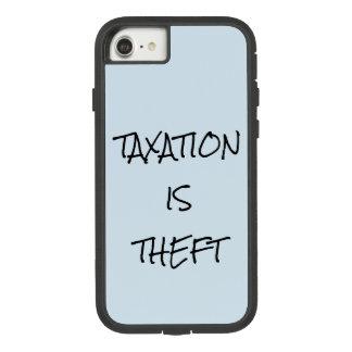 Funda Tough Extreme De Case-Mate Para iPhone 8/7 Los IMPUESTOS SON CASO del iPHONE del HURTO