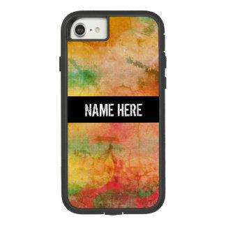 Funda Tough Extreme De Case-Mate Para iPhone 8/7 Modelo del estilo de Bokeh del Grunge